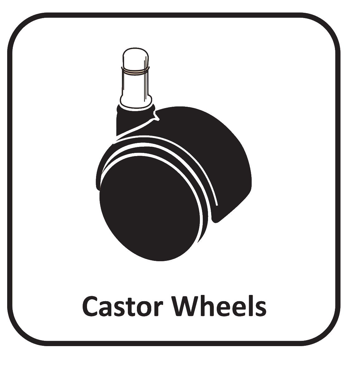 castor wheels icon