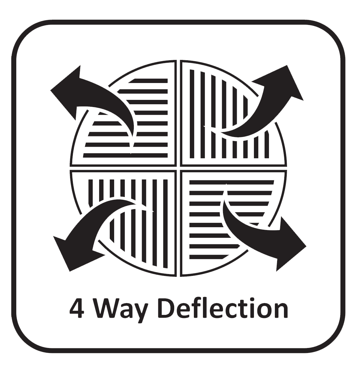 Four Directional Air flow icon