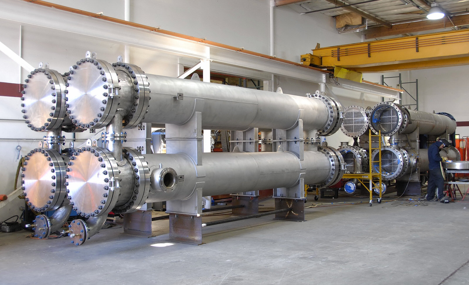 heatexchanger is used to transfer heat