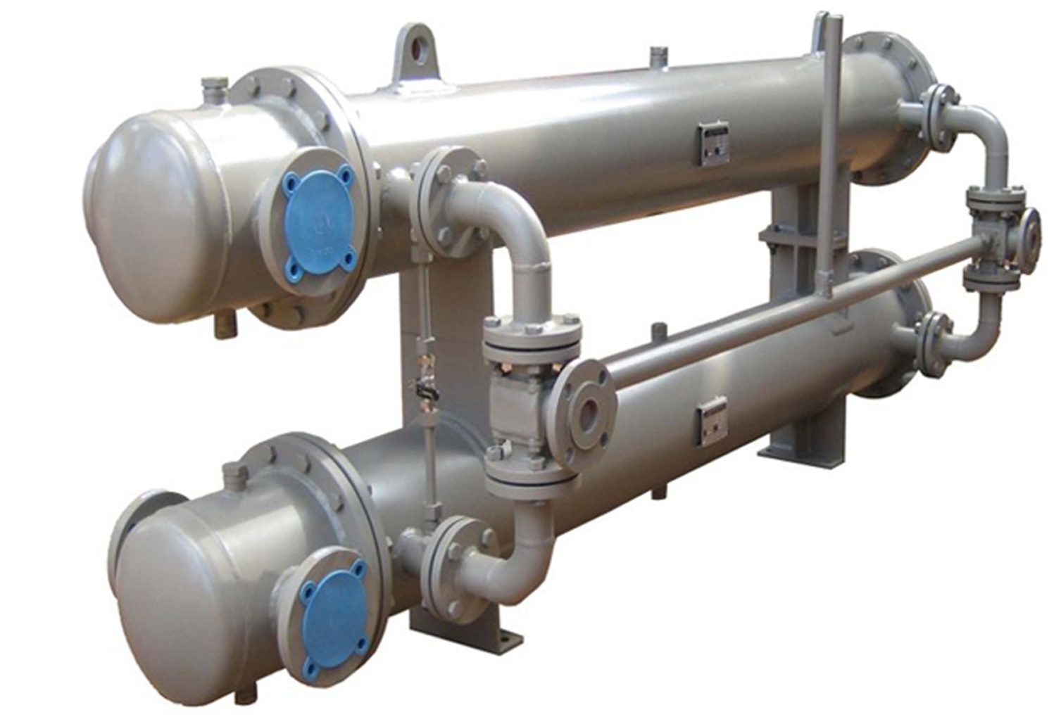 Esaplling heat exchanger