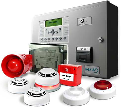 Image of Complete Fire Alarm & Detection System